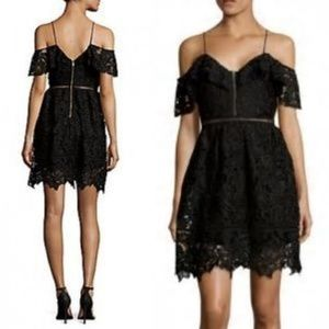 ⭐NWT⭐ Free Generation - Cold Shoulder Lace Dress